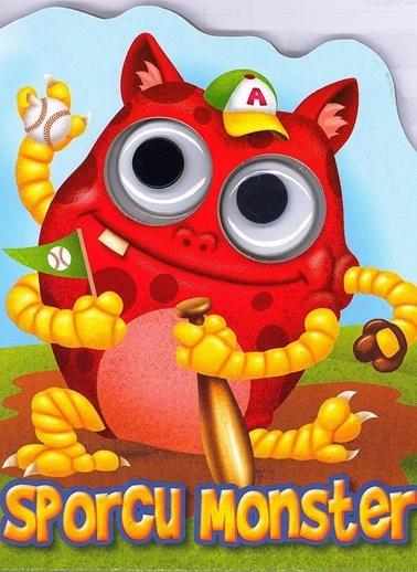 Patlak Gözler Dizisi-Sporcu Monster-Çiçek Yayıncılık